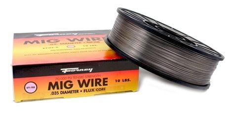 Flux Core Welding Wire >> 42303 Mig Wire 035 10 Lb Spool Flux Core E71 Tgs Mild Steel