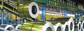 rolled steel sheets