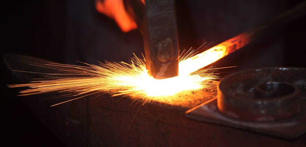 history steel metal forging
