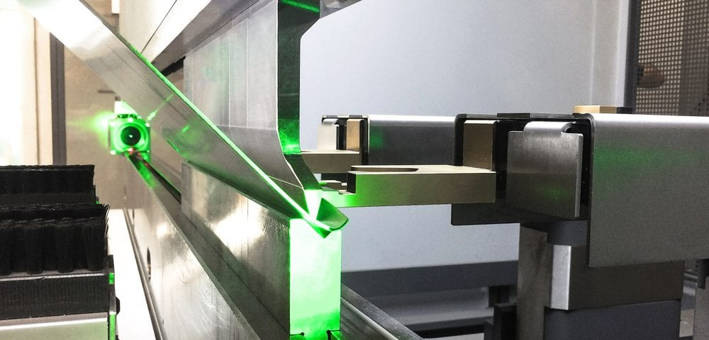 press brake steel bending