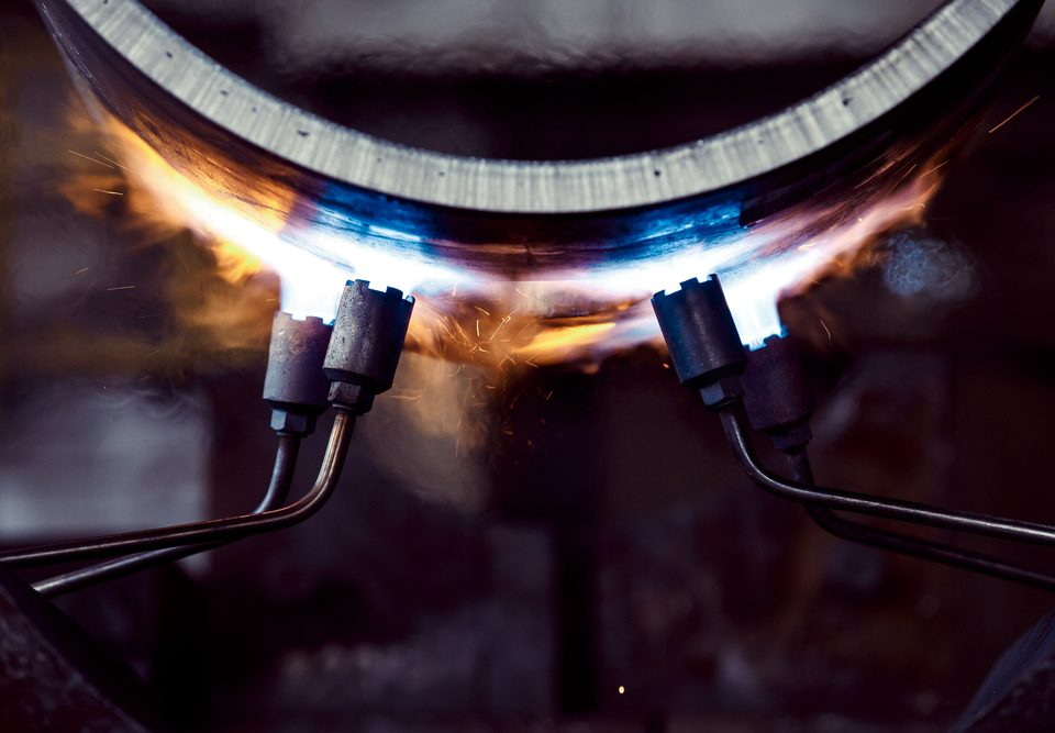 steel overheating burning prevention