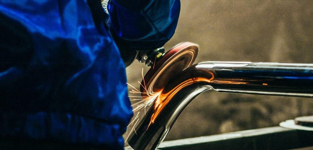steel metal polishing performed