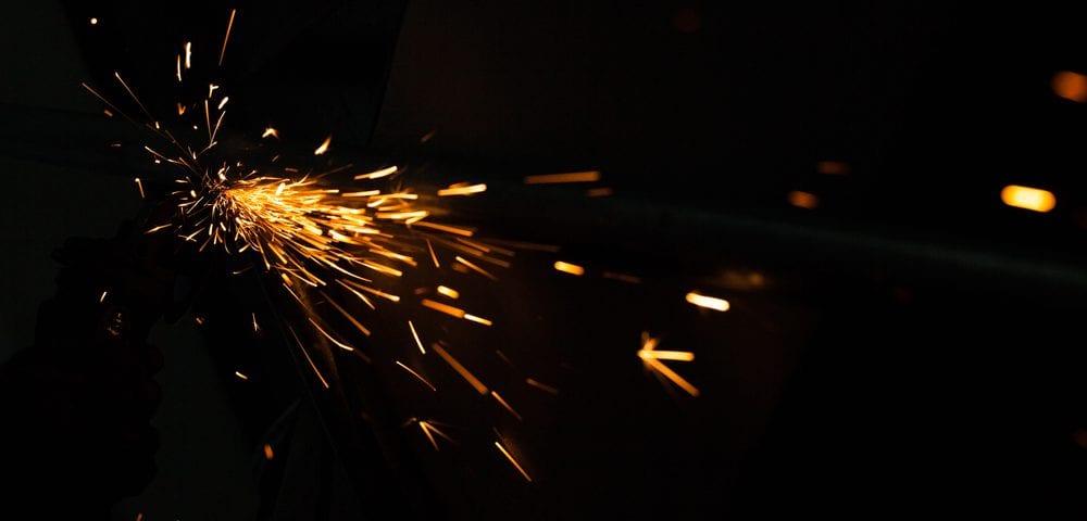 metal steel friction welding