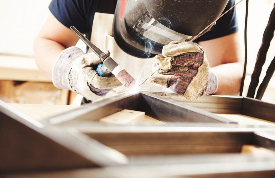 metal welding MIG arc