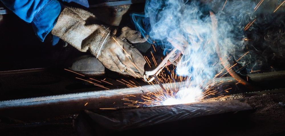 steel shielded metal arc welding