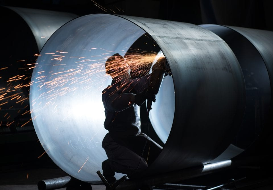 welded metal tube value