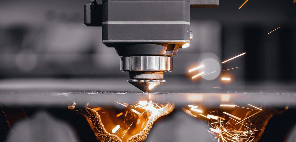 laser cutting steel metals